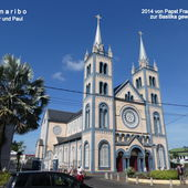Surinam: Basiklika St. Peter und Paul in Paramaribo