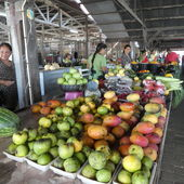 Surinam: Markt in Nickerie